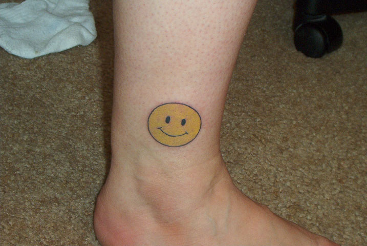 This is my first tattoo. These pics were taken about 2 hours after getting